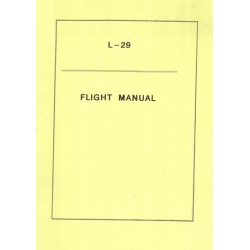 Aero L-29 Delfín NAF T.O. 1T-L29-1 Flight Manual POH 1981