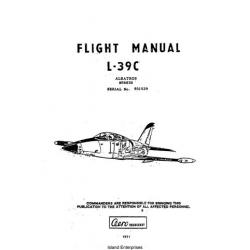 AERO Vodochody L-39C Albatros N5683D Flight Manual POH 1991 $13.95