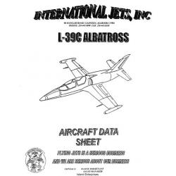 AERO Vodochody L-39C Albatross Aircraft Data Sheet $4.95