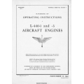 Ranger L-440-1 & L-440-3 Aircraft Engines Handbook Operating Instructions 1942 - 1943 $4.95