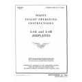 Piper J-3 Cub Military L-4A & L-4B Pilot's Flight Operating Instructions AN 01-140DA-1