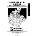 Wisconsin Continental L-Head Quick Reference Catalog $9.95