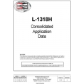 Teledyne Continental Motors L-1318H Consolidated Application Data $9.95