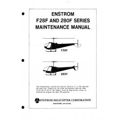 Enstrom F28F and 280F Series Maintenance Manual LRCA-005-1 $19.95