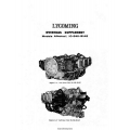 Lycoming IO-540-B1A5 Aircraft Engines Overhaul Manual $13.95