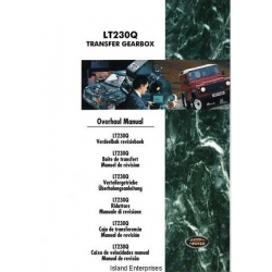 Land Rover LT230Q Transfer Gearbox Overhaul Manual 1997