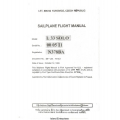 Let L33 Solo Sailplane Flight Manual/POH 1993 $5.95