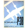 Lockheed Lightning P-38 Pilot Training Manual $9.95