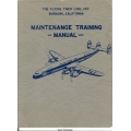 Lockheed 1049H Maintenance Training Manual 1957 $13.95