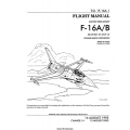 Lockheed Martin F-16A/B Blocks 10 and 15 T.O.1F-16A-1 Flight Manual 1995 - 2003 $13.95