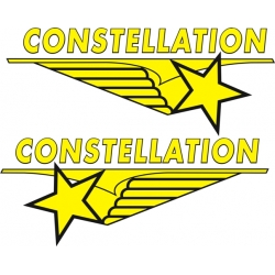 Lockheed Constellation Aircraft Logo,Decals!