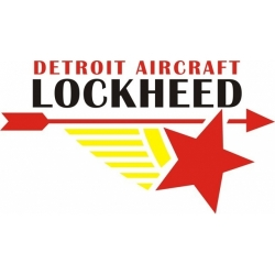 Lockheed Detroit Aircraft Decals!