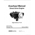 Lycoming Overhaul Manual 60294-7-14 Direct Drive Engine 235-290-320-340-360-540-720 $19.95