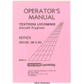 Lycoming AEIO-320, 360 & 540 Series Operator's Manual 1974 - 1983 Part # 60297-21 $13.95