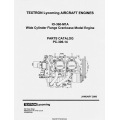 Lycoming IO-360-M1A Wide Cylinder Flange Engines Parts Catalog 2000 Part # PC 306-14 $13.95