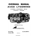 Lycoming Integral Accessory Drive Aircraft Engines Overhaul Manual 1968 Part # 60294-6 $13.95