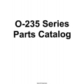 Lycoming O-235 Series Aircraft Engines Parts Catalog 1982 - 1992 $13.95