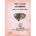 Lycoming O-320 Aircraft Engine Parts Catalog 1954 - 1955 $9.95
