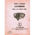 Lycoming O-320 Aircraft Engine Parts Catalog 1954 - 1955