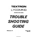 Lycoming SSP-475 Reciprocating Engine Trouble Shooting Guide 1987 $9.95