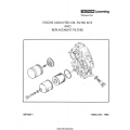 Lycoming SSP-885-1 Engine Mounted Oil Filter Kits & Replacement Filters Installation Manual 1988 $6.95