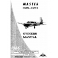 Mooney Master M20D Owner's Manual 1966 $9.95