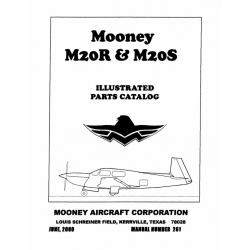 Mooney M20R & M20S Parts Catalog $13.95