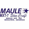 Maule MXT-7 Star Craft Aircraft Decal/Sticker 2 1/2''high x 5 1/2''wide!
