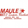 Maule MXT-7 Super Rocket Aircraft Decal/Sticker 2 1/2''high x 5 1/2''wide!