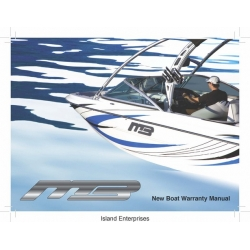 MB Sports New Boat Warranty Manual