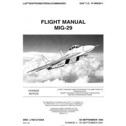 MIG-29 Flight Manual 1F-MIG29-1