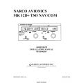 Narco MK-12D TSO Nav/Com Addendum Installation Manual 03118-0620P 1999