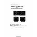 Narco MK-12D TSO Nav/Com and ID 824 TSO/ID 825 TSO Indicators Operation Manual