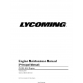 Lycoming IO-360-N1A Engine Maintenance Manual MM-IO-360-N1A  $19.95