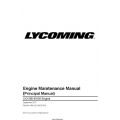Lycoming LIO-360-B1G6 Engine Maintenance Manual MM-LIO-360-B1G6 $13.95