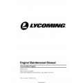 Lycoming YO-233-B2A Engine Maintenance Manual MM-YO-233B2A