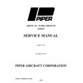 Piper Arrow III/Turbo III/Arrow Service Manual PA-28R-201/201T $13.95 Part #761-639
