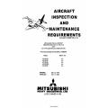 Mitsubishi MU-2B-30 MU-2B-60 Aircraft Inspection and Maintenance Manual MR-0179-2