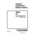 MSA Aircraft Carburetor Service Manual model HA numbers A10-5045 and A10-5045-1   $ 2.95