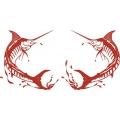 Marlin Fish Boat Logo,Decals!