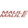 Maule Aircraft Decal/Sticker 2 7/8''high x 17''wide!