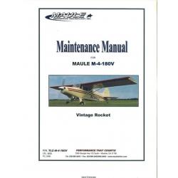 Maule M-4-180V Maintenance Manual  $6.95