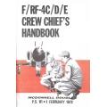 McDonnell Douglas F/RF-4C/D/E Crew Chiefs Handbook $13.95