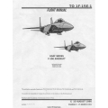 McDonnell F-15E USAF Series Aircraft Flight Manual/POH 1990 - 1991 $13.95