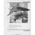 McDonnell F/TF-15 USAF Series Preliminary Flight Manual/POH 1974 - 1975 $9.95