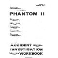 McDonnell Phantom II Accident Investigation Workbook 1967 $9.95