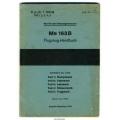 Me 163B Flugzeug Handbuch 1944 $4.95