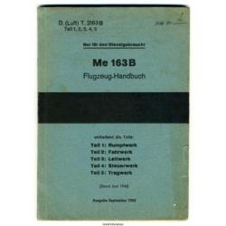 Me 163B Flugzeug Handbuch 1944
