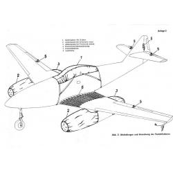 Messerschmitt 262 A - 1 Bedienungsvorschrift