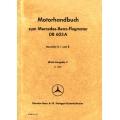 DB 603 A Mercedes-Benz-Flugmotor Motorhandbuch Baureihe 0, 1 und 2 $9.95